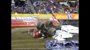 monster truck crash videos youtube crazy monster truck crashes new youtube