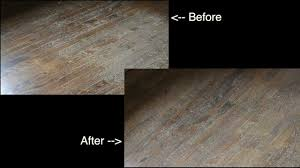 before and after varathane wood floor restoring system