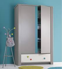 armoire chambre d enfant calisson armoire 2 portes et 1tiroir contemporain chambre d