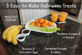 video easy healthy halloween treats step stool chef