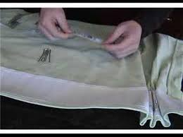 Curtain Pleating Tape How To Use 4 Prong Drapery Hooks To Create French Pleats Youtube