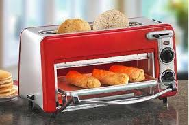 Red Toasters For Sale Hamilton Beach Toastation 2 In 1 2 Slice Toaster U0026 Oven In Red