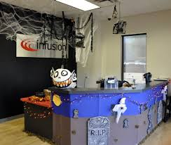 Pictures Of Houses Decorated For Halloween by Office 37 Halloween Office Decorating Ideas Halloween Office