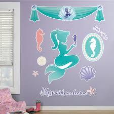 mermaids under the sea giant wall decals birthdayexpress com default image mermaids under the sea giant wall decals
