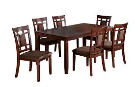 Hayley Dining Room Set Amazon Com Furniture Of America Cartiere 7 Piece Dining Table