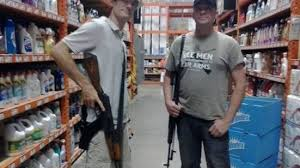 change org petition to ban firearms at home depot the