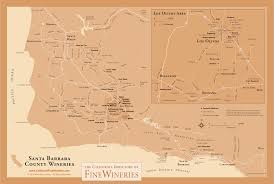 Paso Robles Map California Directory Of Fine Wineries Ca Winery Maps