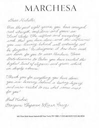 dear michelle u0027 designers write thank you notes to the first lady