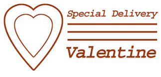valentines delivery special delivery postmark clip