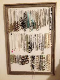 necklace holder diy images Diy necklace holder girls 039 room pinterest diy homemade jpg