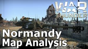 Normandy Map War Thunder Map Analysis Normandy Youtube