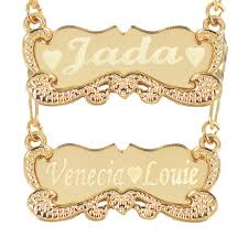 personalized gold name necklaces tina co personalized gold name necklace for women custom any name