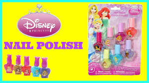 disney princess nail polish set sparkle nail polish uñas disney