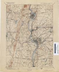 Map Of Eastern Massachusetts Connecticut Historical Topographic Maps Perry Castañeda Map