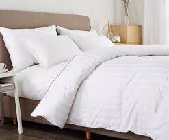 Twin White Comforter Amazon Com Puredown White Down Comforter Full Queen Cotton Shell