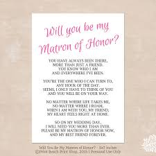 will you be my bridesmaid poem will you be my matron of honor poem instant