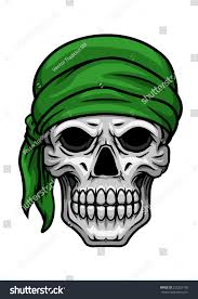 halloween background to print cartooned scary skull sullen bared teeth stock vector 255323158