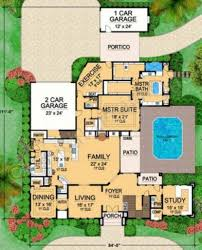 Contempory House Plans Luxor Spacious House Plans Contemporary Home Plans
