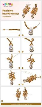 diy drop earrings 44 fancy diy necklace and earrings tutorials for a budget friendly