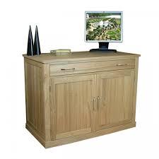 bureau office desk bureau baumhaus mobel oak cor06a
