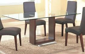 glass top dining table set 4 chairs glass top dining table set 4 chairs glass round table with crafted