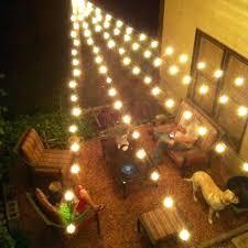 Hanging Lights Patio Looking Outdoor Patio Lighting Outdoor Patio Light Ideas For