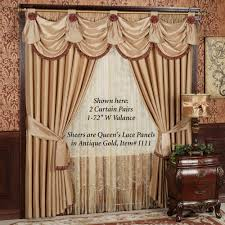 Drapery Valance Curtain Touch Of Class Curtains Window Valance Ideas Cafe Curtain