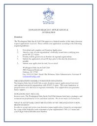 letter format for donation request gallery letter samples format
