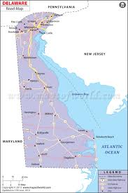New York Map With Cities by Delaware Road Map World Information Pinterest Delaware And