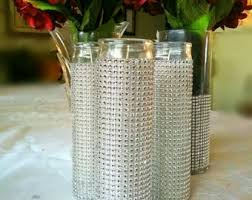 Candle Centerpieces For Birthday Parties by Bling Centerpiece Etsy