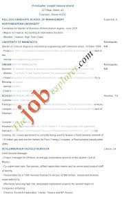 Best Resume Format For Graduates by Format Student Resume Format
