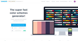 coolors the super fast color schemes generator u2014 nicely done