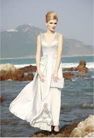wedding dresses non white bridal gown silk silver 1