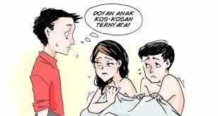 tak puas dengan suami istri suka minta tambah ke si brondong