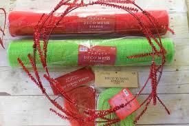 christmas mesh wreaths miss kopy make a christmas mesh wreath