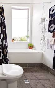 black and white bathroom inspiration apartment therapy