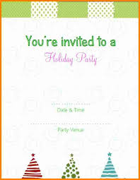 9 free printable christmas party invitations templates budget