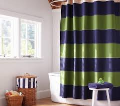 Yellow And Navy Shower Curtain Rugby Shower Curtain Pottery Barn Kids Navy And Green Bathroom