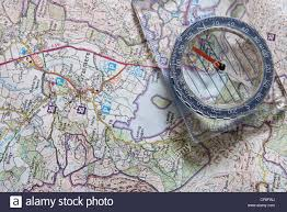 Map With Compass Ordnance Survey Map Stock Photos U0026 Ordnance Survey Map Stock