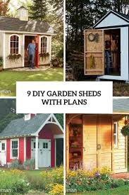 9 easy and functional diy garden sheds with plans gardenoholic