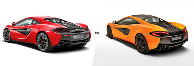 orange mclaren interior mclaren 540c vs 570s what u0027s the difference carwow