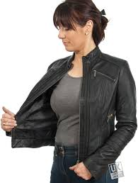 ladies motorcycle jacket ladies black leather biker jacket lima uk lj