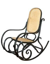 Thonet Vintage Chairs One Style Of Antique Rocking Chair Bentwood Rocker Was