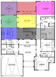 example of floor plan feng shui example of layout 1st floor bagua overlay for home top