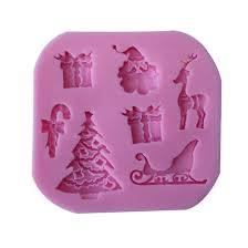 pop christmas tree deer santa claus fondant cake decorating tools