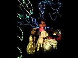 christmas lights longview tx mini santa land longview tx 2014 youtube