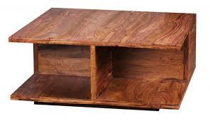 Wohnzimmertisch Mit Stauraum Finebuy Couchtisch Massiv Holz Sheesham 88 Cm Breit Wohnzimmer