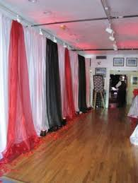 Pipe And Drape Hooks Decoration For Weddding Reception In Gym And Dreamy Wedding