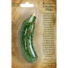 christmas pickle 1 x glittery christmas pickle tree ornament home