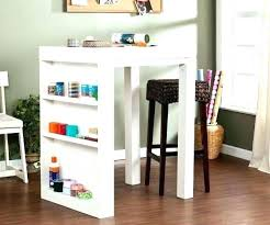 drop leaf craft table sauder craft table new white sewing craft table drop leaf shelves